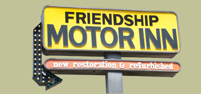 Friendship Motor Inn - affordable, comfortable Los Angeles motel minutes from all that LA has to offer