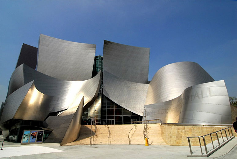 Walt Disney Concert Hall  - minutes from the convenience and affordability of Friendship Motor Inn